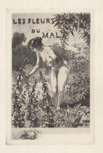 2-Les-Fleurs-du-Mal,-with-skull-icon-(Illus)